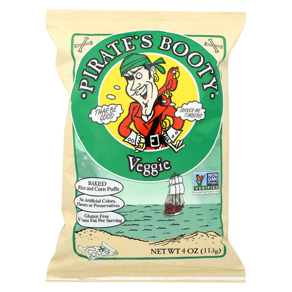 Pirate Brands Booty Snacks - Veggie - Case of 12 - 4 oz.