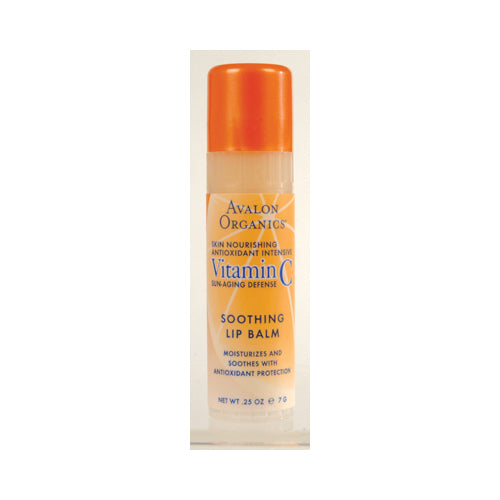 Avalon Organics Vitamin C Soothing Lip Balm - Case of 16 - .25 oz