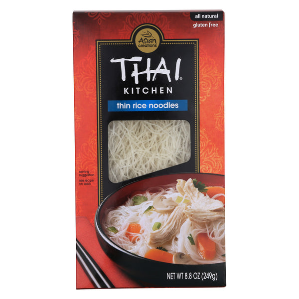 Thai Kitchen Thin Rice Noodles - Case of 12 - 8.8 oz.