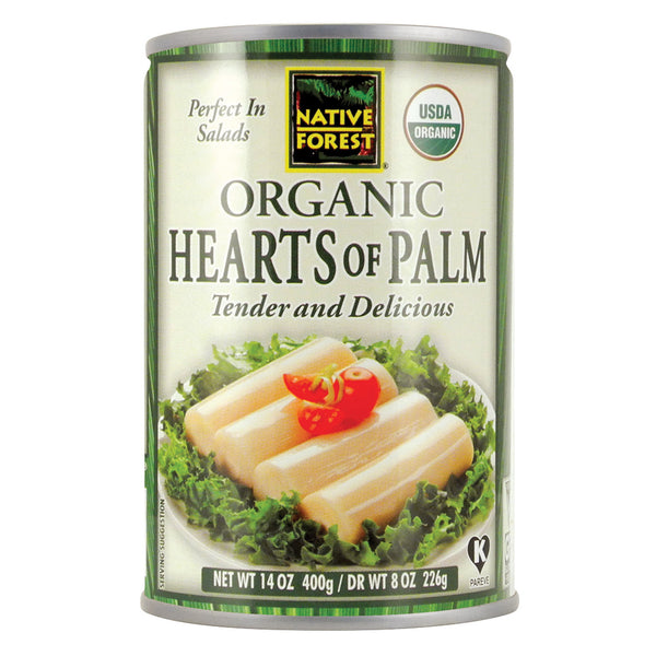 Native Forest Organic Hearts - Palm - Case of 12 - 14 oz.