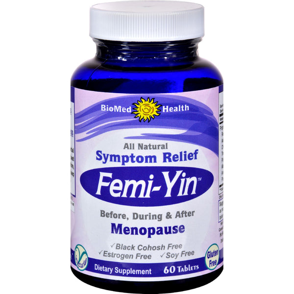 Biomed Health Femi-Yin Peri and Menopause Relief - 60 Capsules