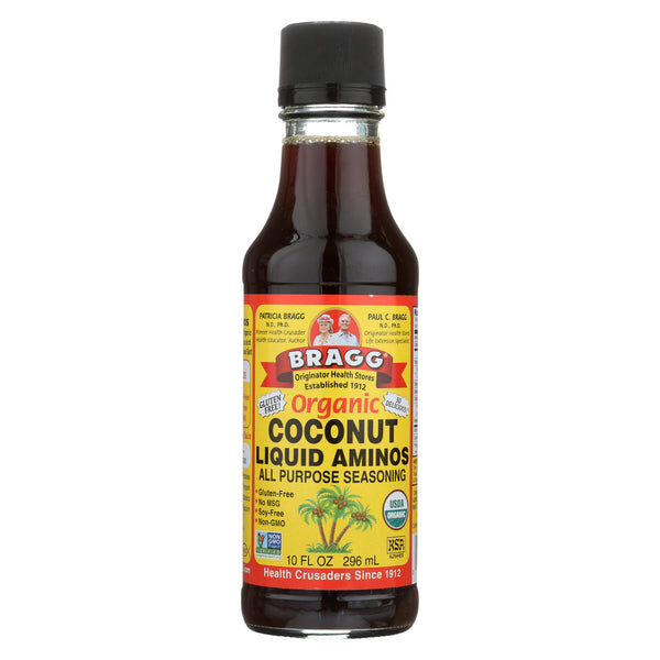 Bragg - Liquid Aminos - Organic - Coconut - Case of 12 - 10 fl oz