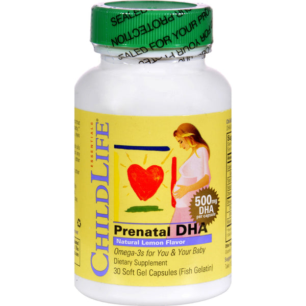 Childlife PreNatal DHA - 30 Softgels