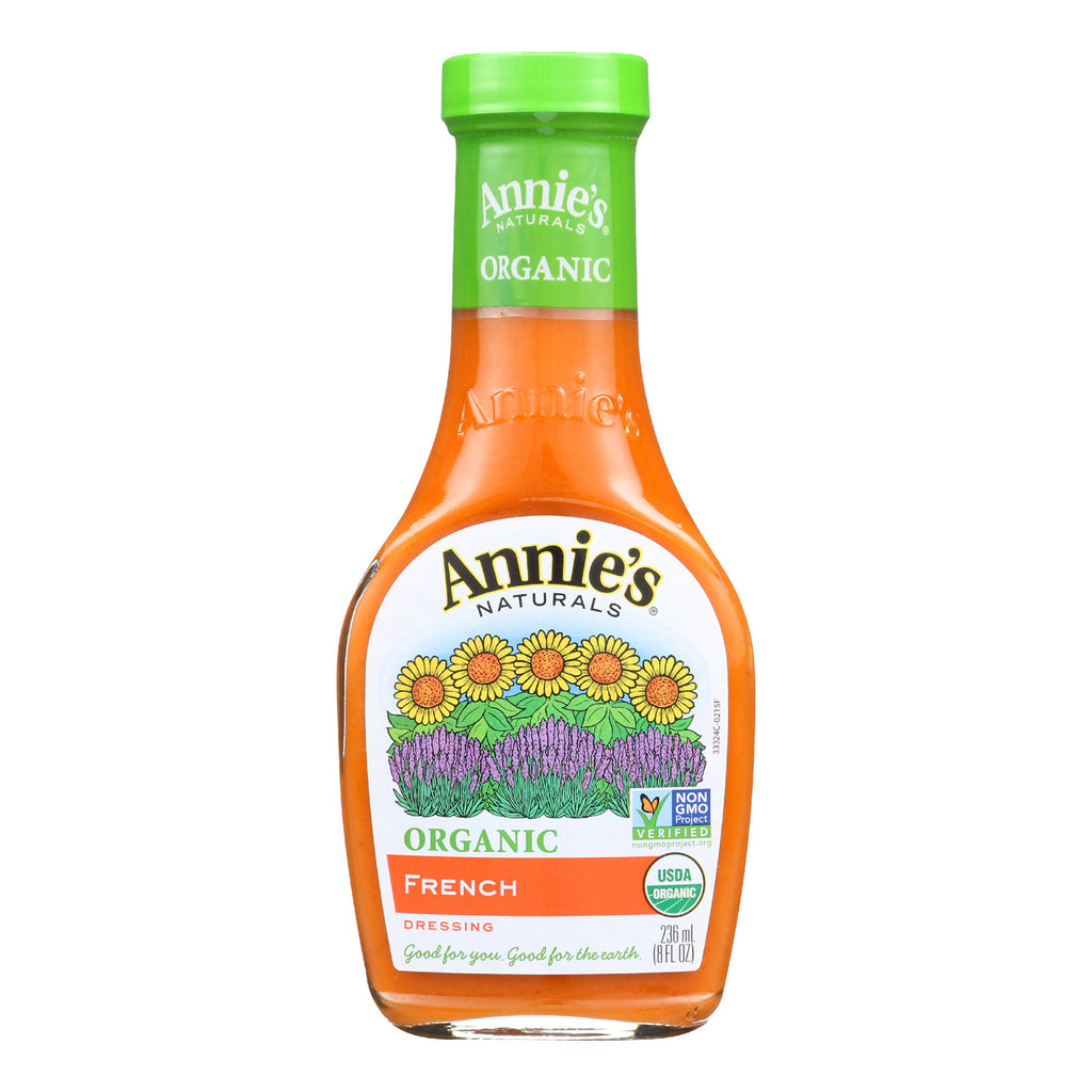 Annie's Naturals Organic Dressing French - Case of 6 - 8 fl oz.
