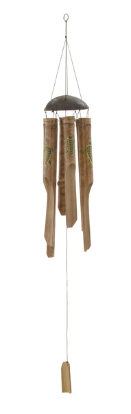 Stunningly Crafted Bamboo Windchime 40370 - Benzara