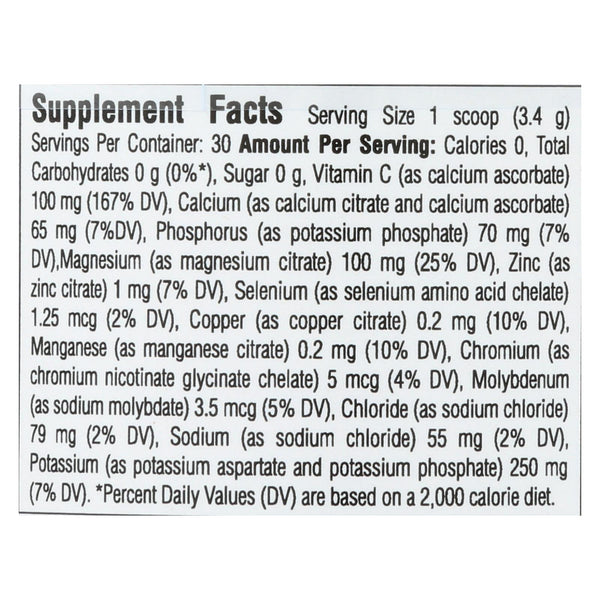 Ultima Replenisher Electrolyte Powder - Grape - Can - 3.6 oz