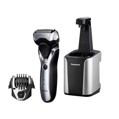 Panasonic  Arc3 3-Blade Electric Shaver with Automatic Clean and Charge Station Wet/Dry