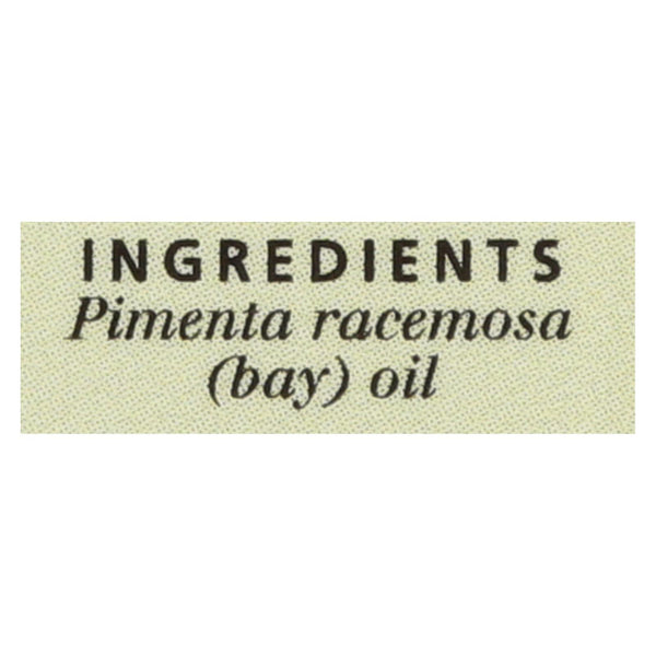 Aura Cacia - Essential Oil - Bay - .5 oz