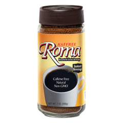Kaffree Instant Roasted Grain Beverage - Roma - Case of 6 - 7 oz.