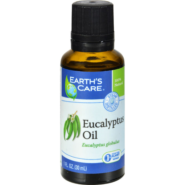 Earth's Care Essential Oil - 100 Percent Pure - Natr - Eucalyptus - 1 fl oz