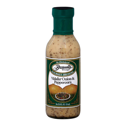 Braswell's - Dressing - Vidalia Onion Peppercorn - Case of 6 - 12 Fl oz.