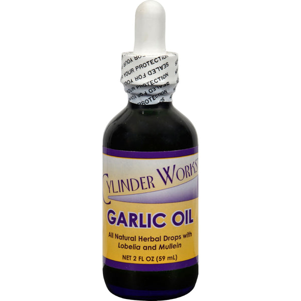 Cylinder Works Garlic Oil - 2 oz