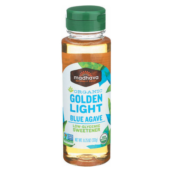 Madhava Honey Golden Light Agave - Case of 6 - 11.75 Fl oz.