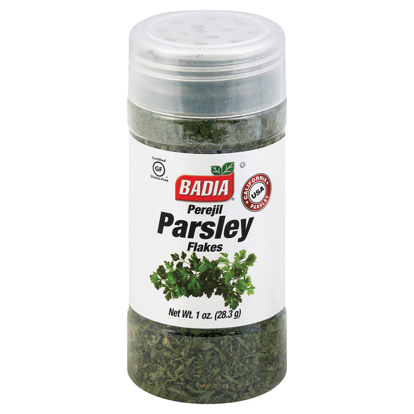 Badia Spices Parsley Flakes - Case of 12 - 1 oz.