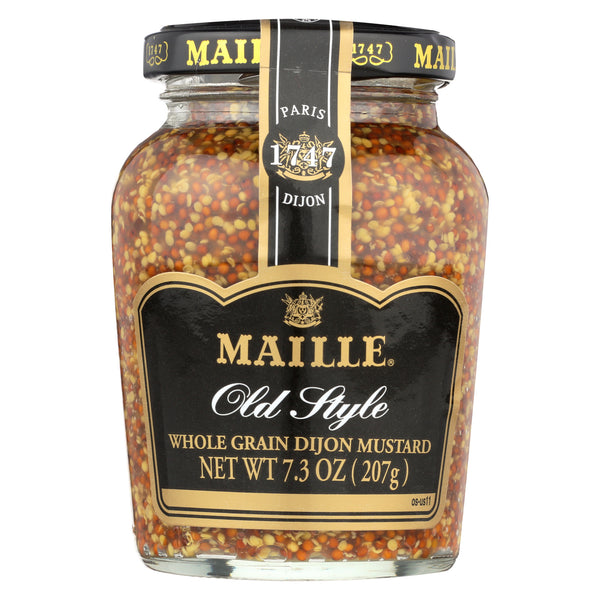 Maille Old Style Whole Grain Dijon Mustard - Case of 6 - 7.3 oz.