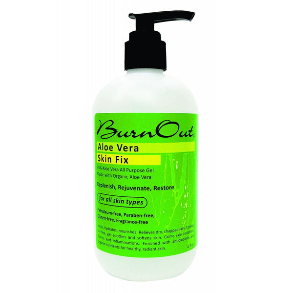 Burn Out Aloe Vera Gel - Skin Fix - 12 oz