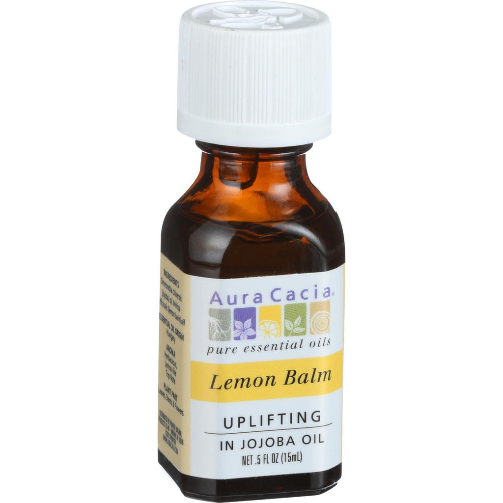 Aura Cacia Precious Essentials - Lemon Balm - .5 oz