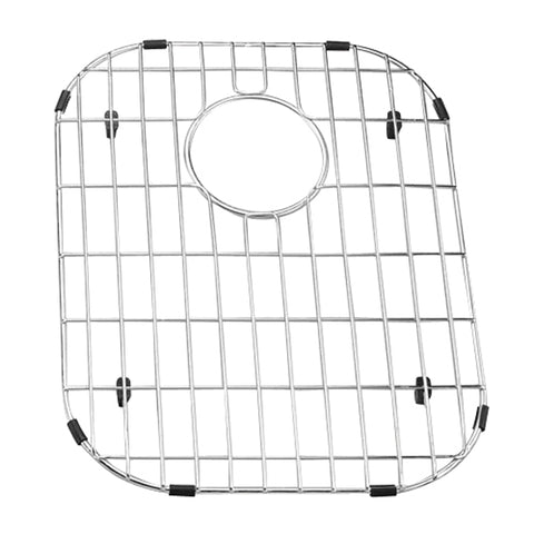 BG4137B Silver Stainless Steel Yosemite Home Décor BG4137B Stainless Steel Sink Grid YHD Sinks - Accessories