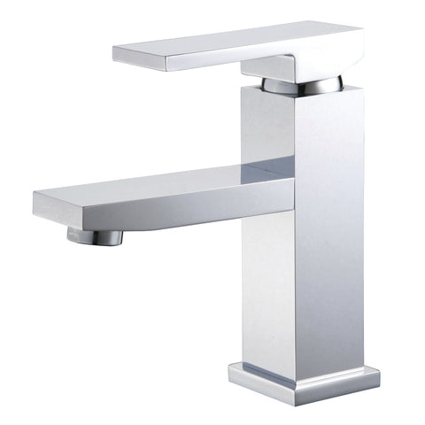 YP82VFB-PC Polished Chrome Finish Metal Single Handle Lavatory Faucet Single Handle Lavatory Faucet