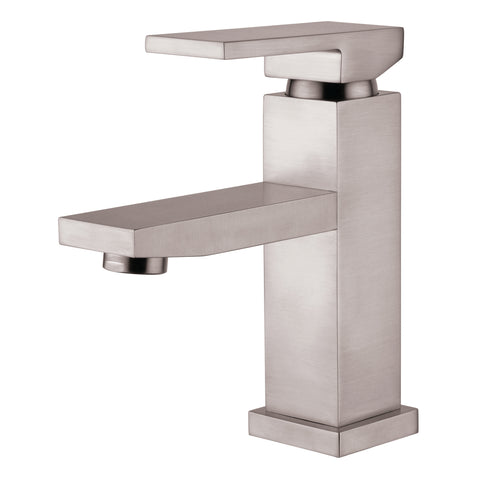 YP82VFB-BN Brushed Nickel Finish Metal Single Handle Lavatory Faucet Single Handle Lavatory Faucet