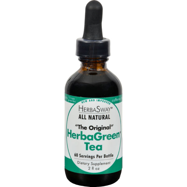 Herbasway Laboratories HerbaGreen Tea Original - 2 fl oz