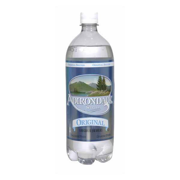 Naturals Adirondack Seltzer - Original - Case of 12 - 33.8 Fl oz.