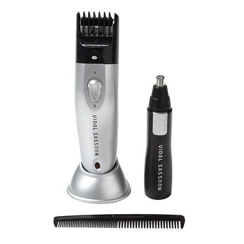 Vidal Sassoon VSCL817 Cord/Cordless Trimmer with Groomer