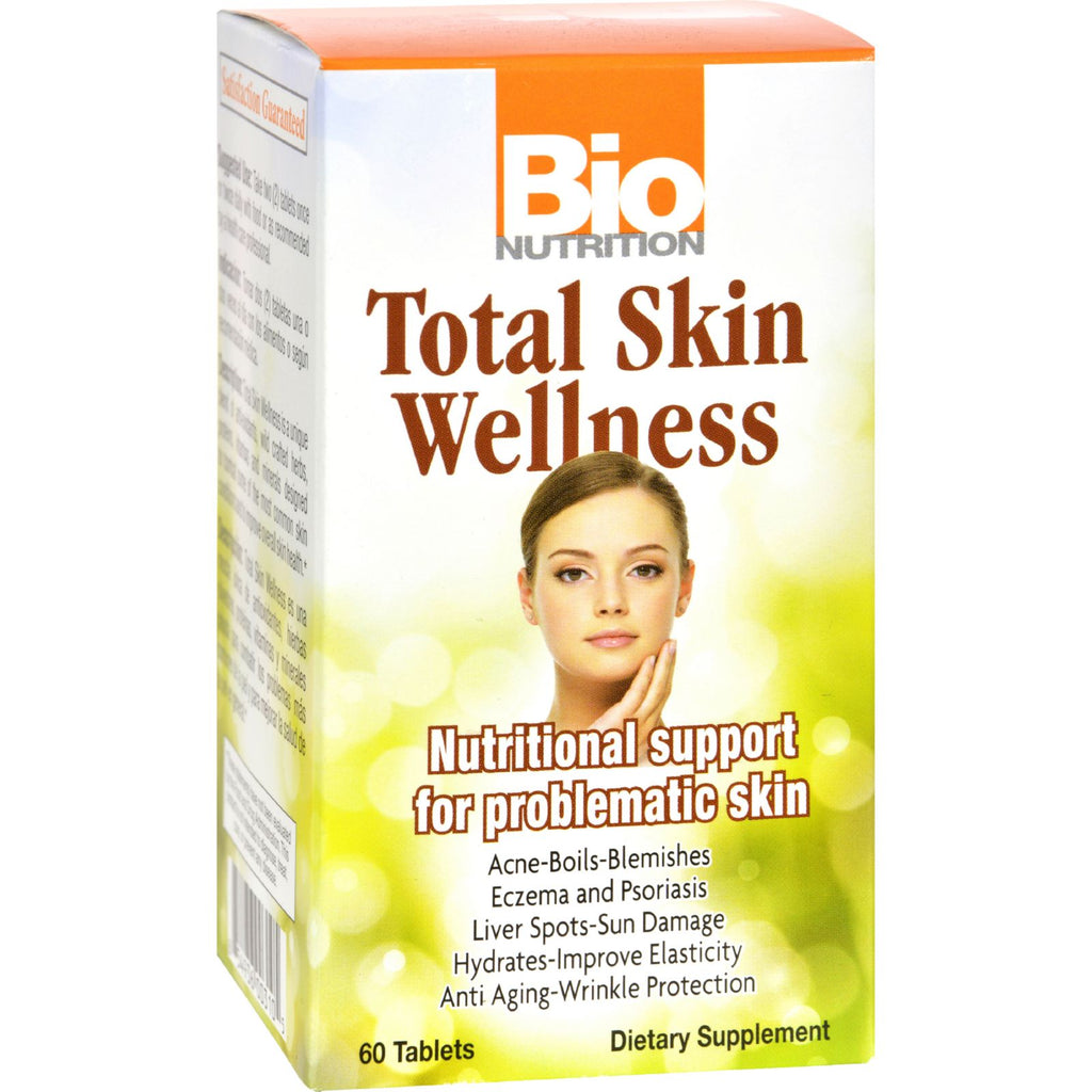 Bio Nutrition Total Skin Wellness - 60 Tablets