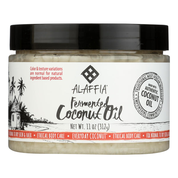 Alaffia - Everyday Coconut Oil - for Hair and Skin - 11 fl oz.