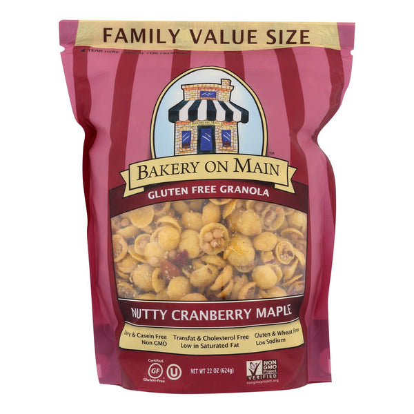 Bakery On Main  Granola - Nutty Cranberry Maple - Case of 4 - 22 oz.