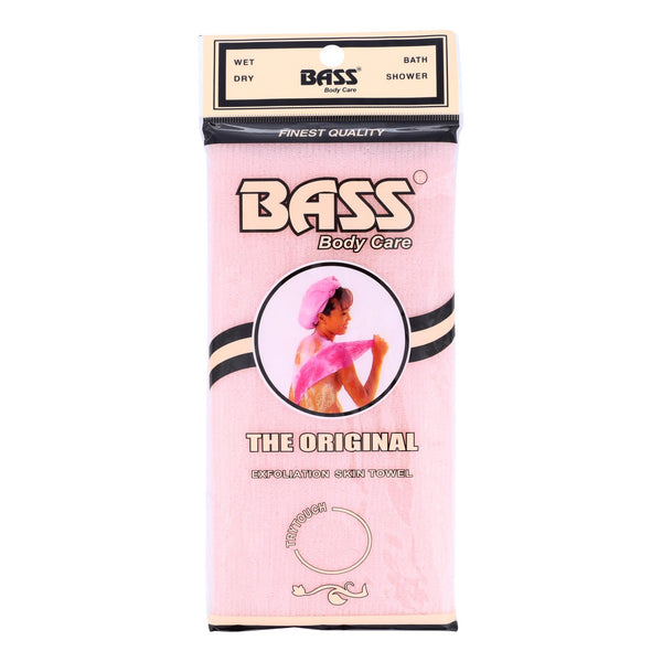Bass Body Care Exfoliation Skin Towel  - 1 Each - CT