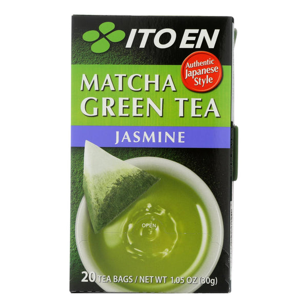 Ito En Organic Matcha Green Tea Jasmine  - Case of 6 - 20 BAG