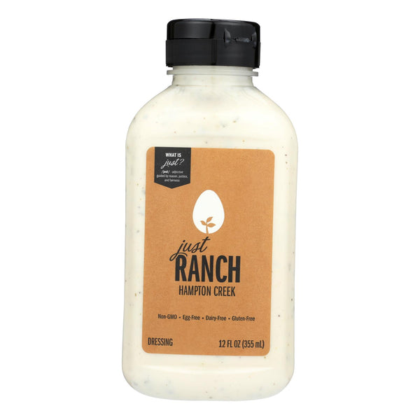 Just - Salad Dressing - Ranch - Case of 6 - 12 oz.