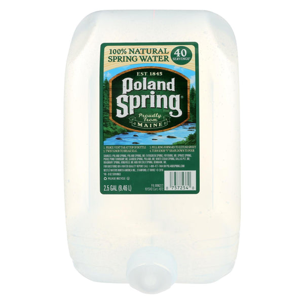 Poland Spring Water - Original - Case of 2 - 2.5 Gal