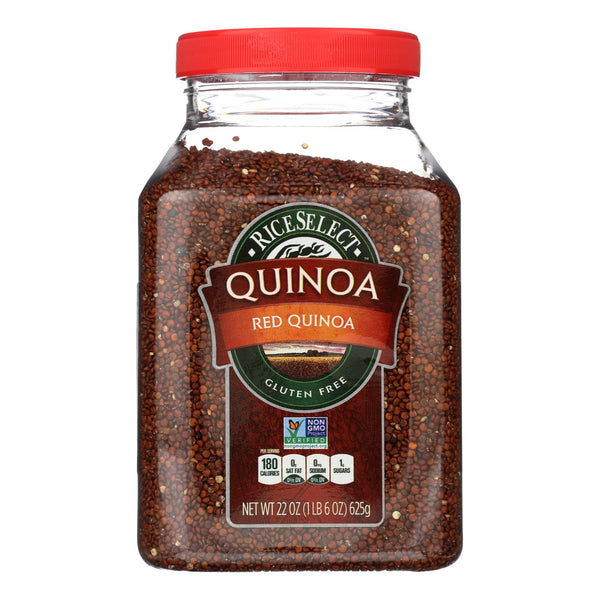 Rice Select Red Quinoa - Case of 4 - 22 OZ