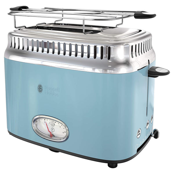 Russell Hobbs  Retro Style 2 Slice Toaster in Blue