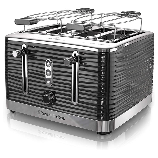 Russell Hobbs  Retro Style 4 Slice Toaster in Black