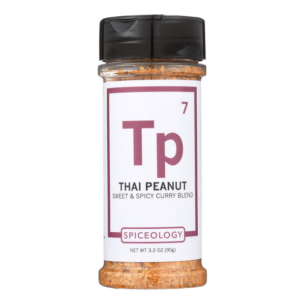 Spiceology Thai Peanut Sweet & Spicy Curry Blend Spice  - Case of 6 - 3.2 OZ