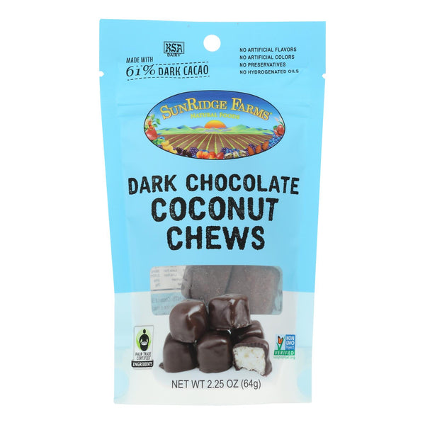 Sunridge Farms Coconut Chews - Case of 8 - 2.25 OZ