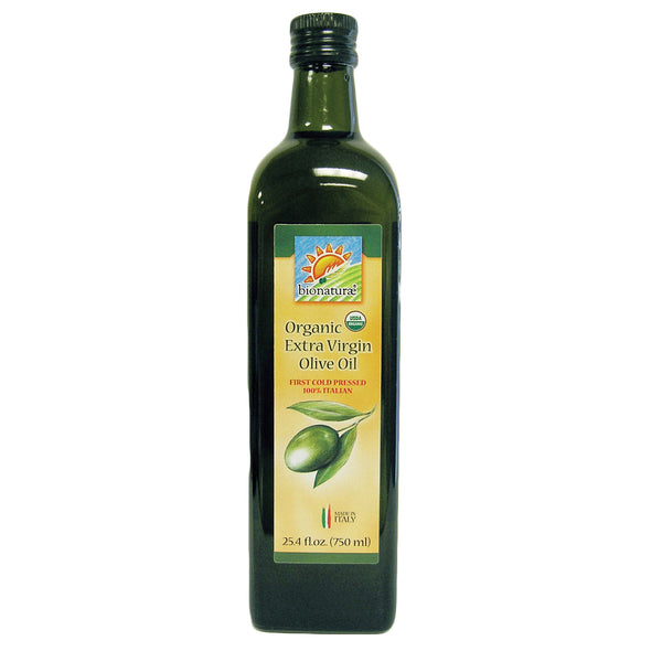 Bionaturae Olive Oil - Organic Extra Virgin - Case of 6 - 25.4 FL oz.