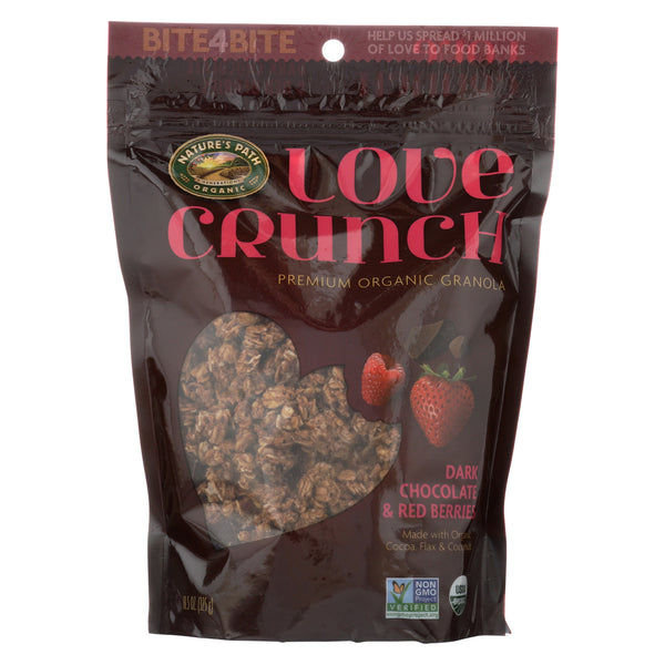 Nature's Path Love Crunch - Ark Chocolate and Red Berries - Case of 6 - 11.5 oz.