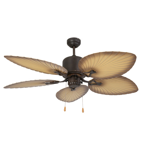 CALIFORNIA BREEZE2-NLK Oil Rubbed Bronze Steel, Glass, Wood California Breeze2 Collection 52 Outdoor Fan CALIFORNIA