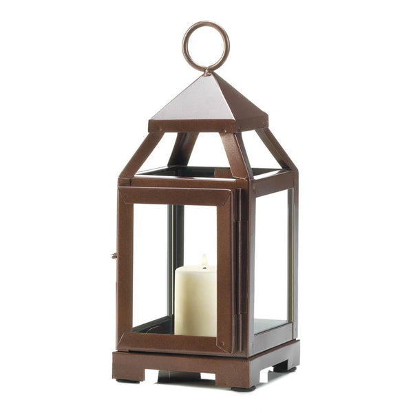 Copper Mini Contemporary Lantern
