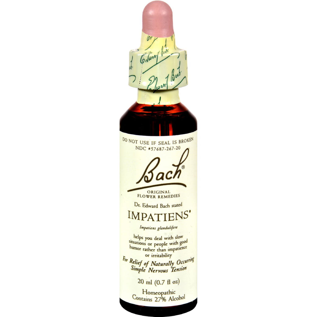 Bach Flower Remedies Essence Impatiens - 0.7 fl oz