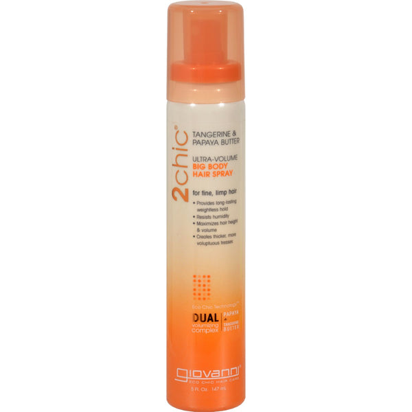 Giovanni Hair Care Products 2chic Hair Spray - Ultra-Volume - 5 fl oz