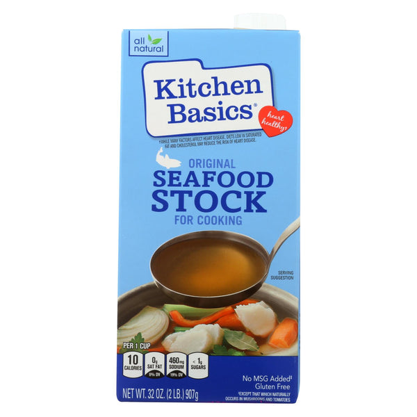 Kitchen Basics All Natural Seafood Stock - 32 fl oz