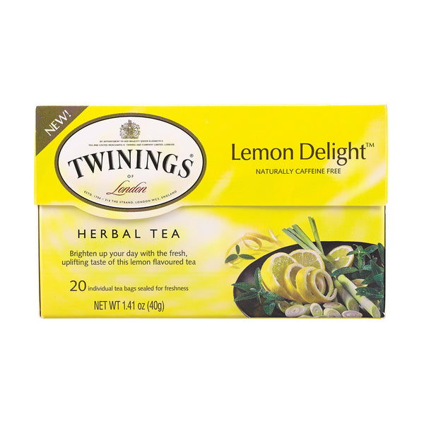 Twinings Tea Tea - Herbal - Lemon Delight - Case of 6 - 20 count