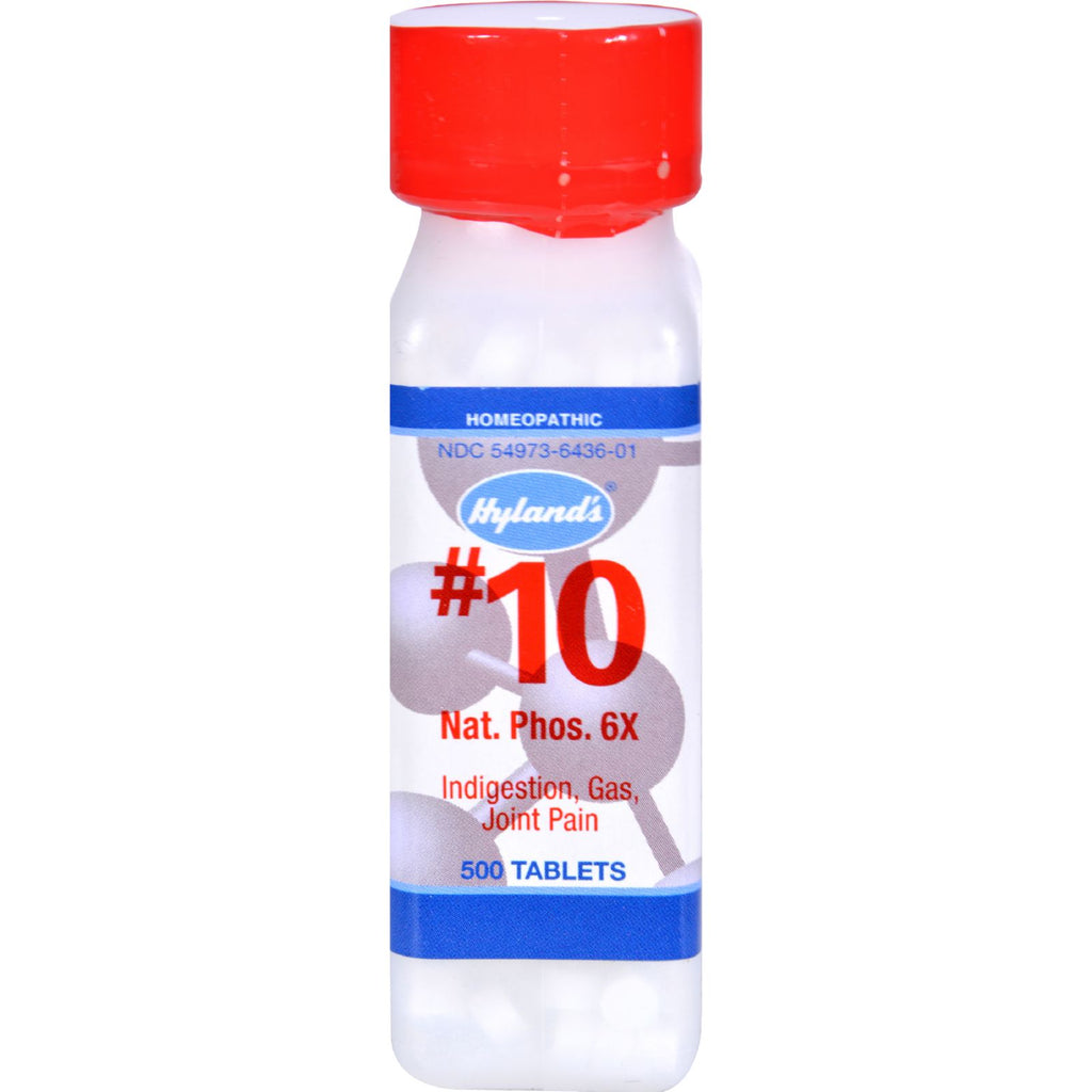 Hyland's No.10 Nat. Phos 6x - 500 Tablets
