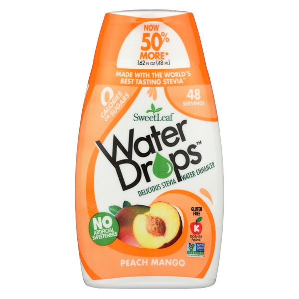 Sweet Leaf Water Drops - Peach Mango - 1.62 fl oz