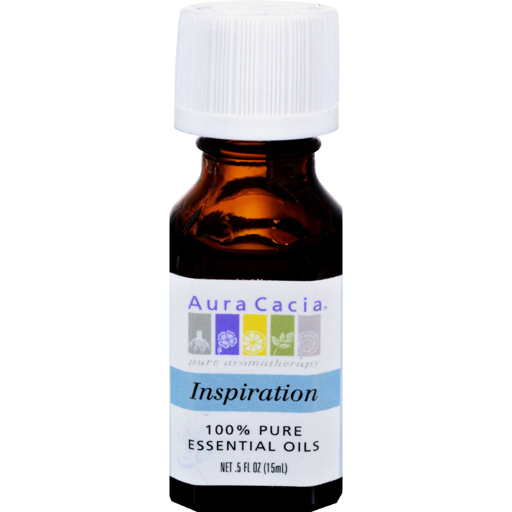 Aura Cacia Pure Essential Oils Inspiration - 0.5 fl oz